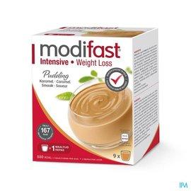 MODIFAST Modifast Intensive Pudding Caramel Zakje 9
