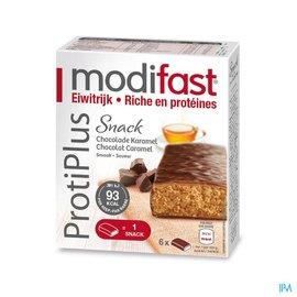 MODIFAST Modifast Protiplus Reep Melkchocolade-caramel 162g