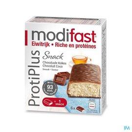 MODIFAST Modifast Protiplus Reep Chocolade-kokos 162g