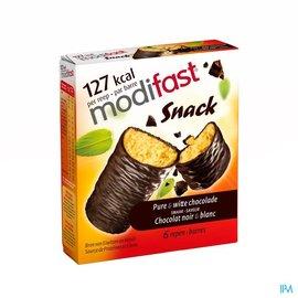 MODIFAST Modifast Control Barre Gout Chocolat Noir-blanc 6