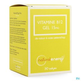 Natural Energy Natural Energy Vitamine B12 Gel 30x1,5ml