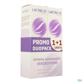 Lactacyd Lactacyd Pharma Apaisant 2x250ml 1+1