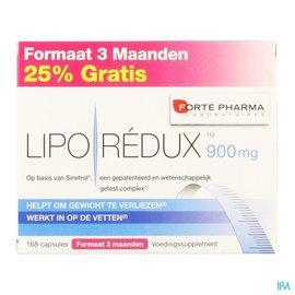 FORTEPHARMA Liporedux 900mg Promopack 3 Maand Caps 168