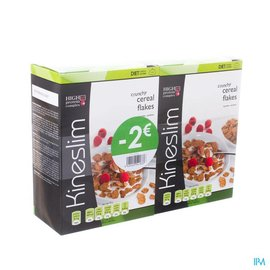 Kineslim Kineslim Cereal Flakes Duo 2x4x30g -2€