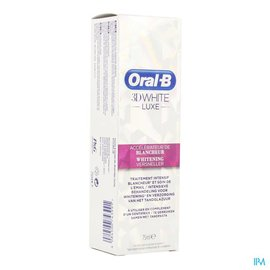 Oral B Oral B 3d White Luxe Withening Accel. Tube 75ml