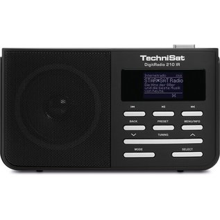 TECHNISAT TECHNISAT DIGITRADIO 210 BLACK