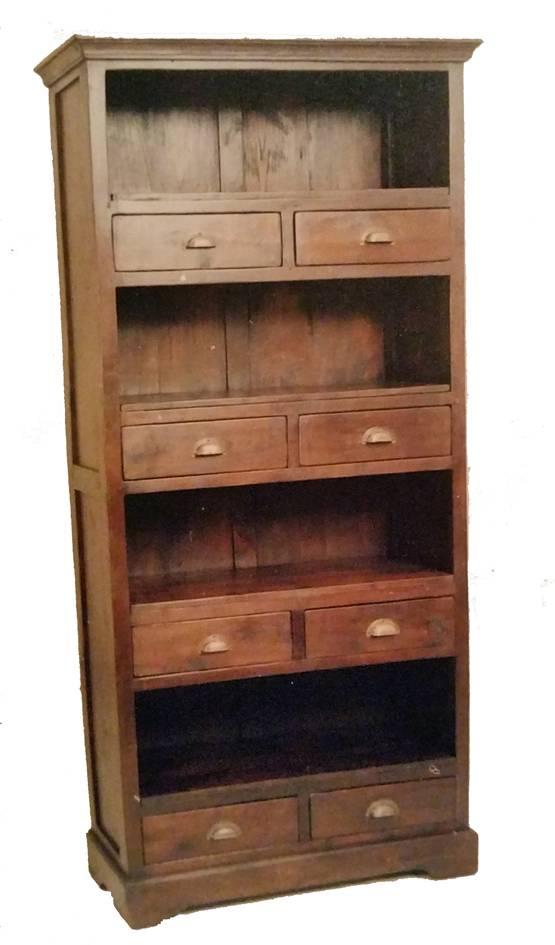 Boekenkast teak W177 | Dessa meubelen, de teak speciaalzaak!