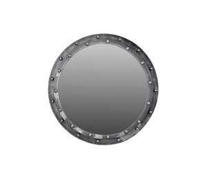 Spiegel Rond Hout : Ferro spiegel rond dessa meubelen de teak speciaalzaak