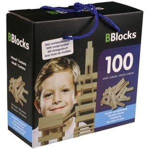 Bblocks BBlocks bouwplankjes 100 stuks