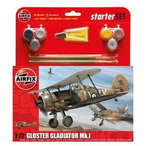 Airfix Gloster Gladiator Mk.I 1:72  # Airfix 55206