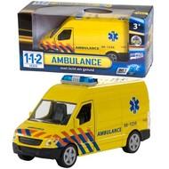 112 Ambulance met licht en geluid