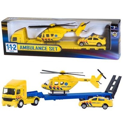 112 Ambulance set 3 delig