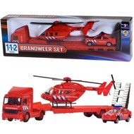 112 brandweer set 3 delig