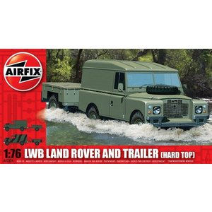 Airfix Landrover + Trailer 1:76 # Airfix 02324