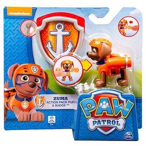 Paw Patrol Zuma Met Badge