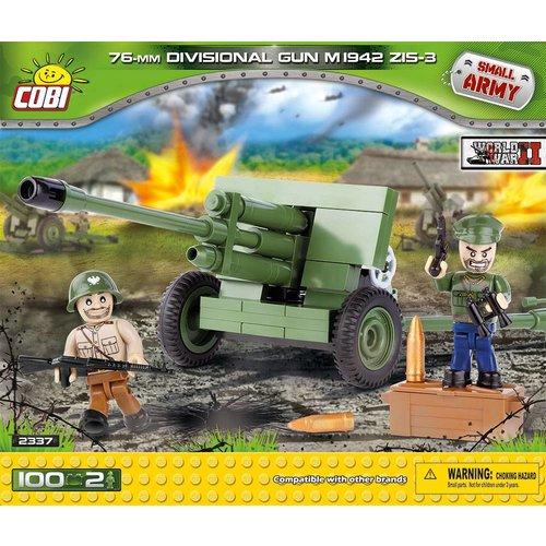 Cobi Small Army Divisional Gun # 2337