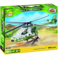 Cobi Small Army Eagle Attack Helicopter # 2362