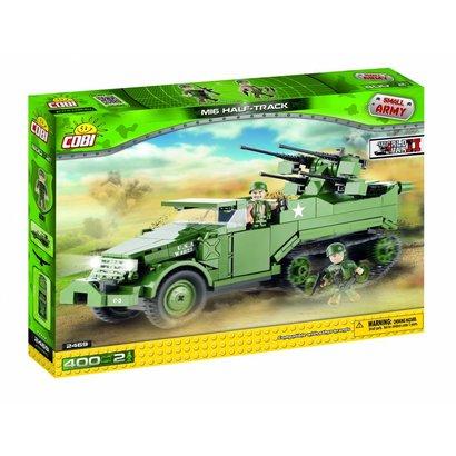 Cobi Small Army WWII - M16 Half-Track # 2469