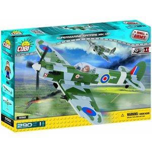Cobi WW II Vliegtuigen - Supermarine Spitfire # 5512