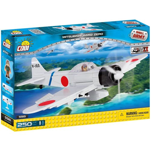 Cobi WW II Vliegtuigen - Mitsubishi A6M2 Zero # 5515