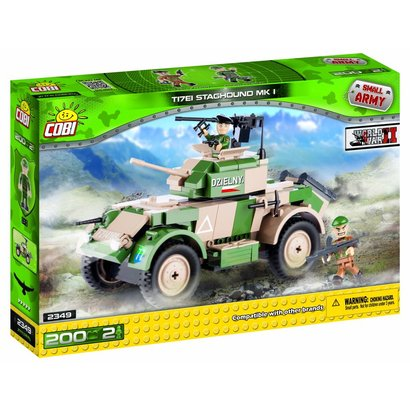Cobi Small Army WWII - Cobi Small Army Staghound T17E1 #2349