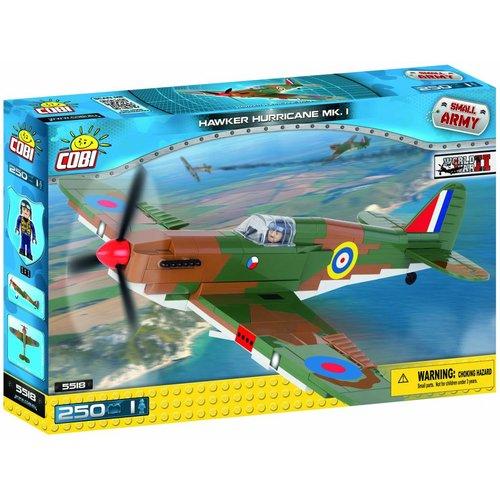 Cobi WW II Vliegtuigen - Hawker Hurricane MK1 # 5518