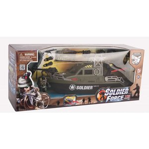 Soldier Force Oceanviper Powerboat Set