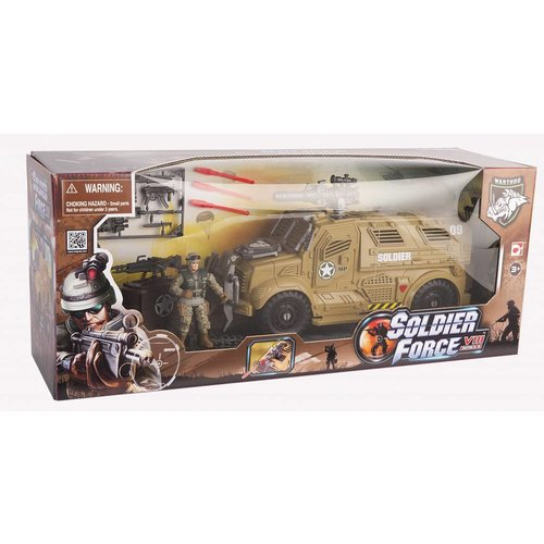 Soldier Force Sand Cougar X Transporter Set