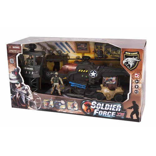 Soldier Force Heliblaster Action Set
