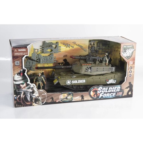 Soldier Force Destroyer 73 Playset