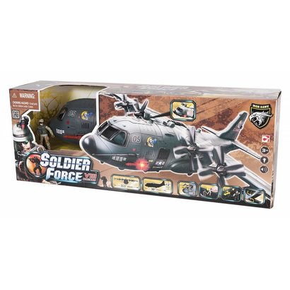 Soldier Force AB-115 Shark Playset