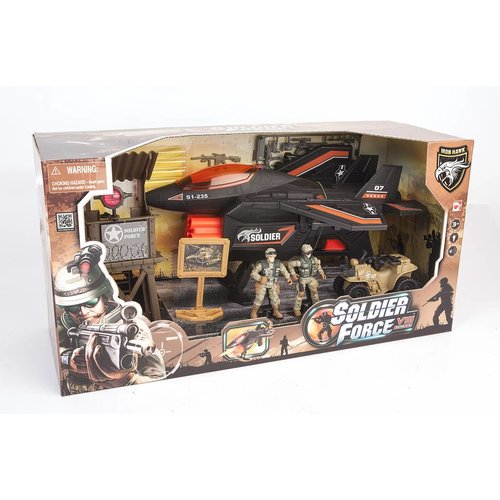 Soldier Force Six Darts Fighter Jet