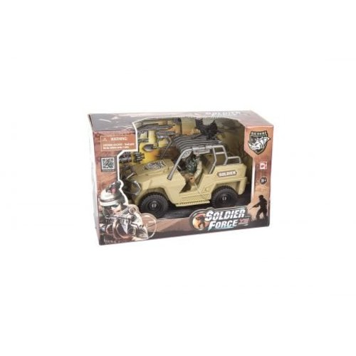 Soldier Force Quick Vehicle Jeep Desert