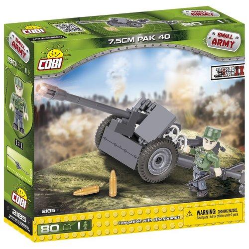 Cobi Small Army WWII - 7,5 cm PaK 40 #2185