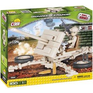 Cobi Small Army WWII - Ordnance QF 2-pounder
