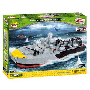 Cobi Small Army WWII - Patrol Torpedo Boot PT-305 # 2376