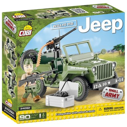 Cobi Small Army WWII - Willys MB Jeep