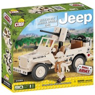 Cobi Small Army WWII - Willys MB Jeep Noord Afrika
