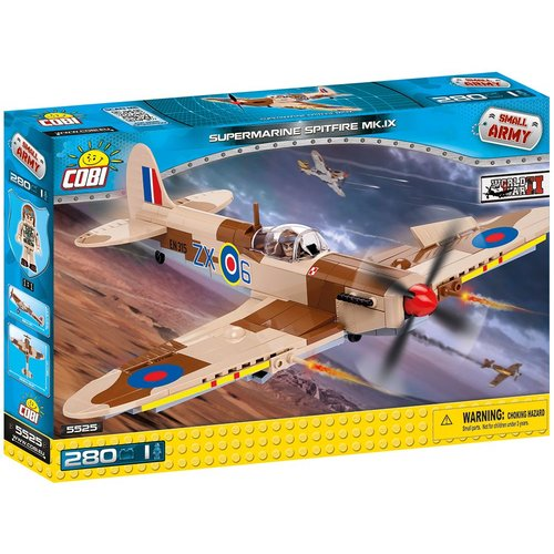 Cobi WW II Vliegtuigen - Spitfire MK.IX # 5525