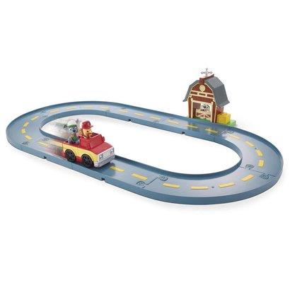 Paw Patrol Rocky's Barn Rescue Track - Speelset