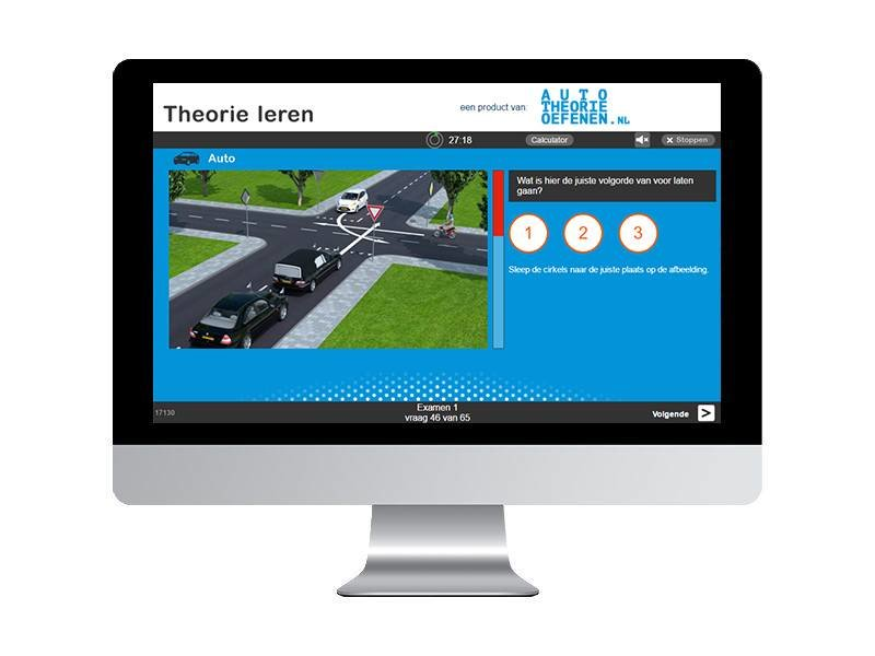 10 online auto theorie-examens