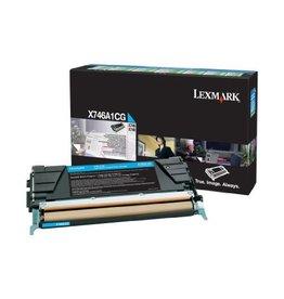 Lexmark Toner Lexmark X746 Cyan 7K Return