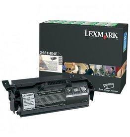 Lexmark Toner Lexmark X651 Black 25K