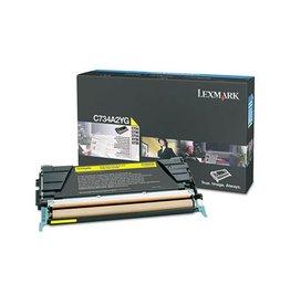 Lexmark Toner Lexmark C734 Yellow 6K