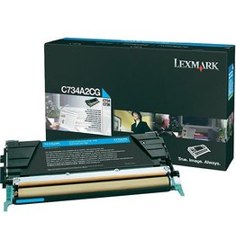 Lexmark Toner Lexmark C734 Cyan 6K