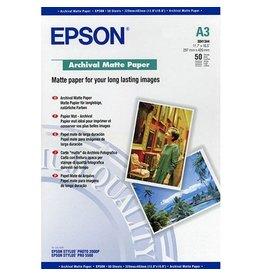 Epson Fotopapier Epson A3 192gr 50vel