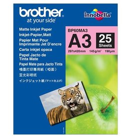 Brother Fotopapier Brother A3 145gr Matt 25vel