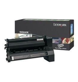 Lexmark Toner Lexmark C752 Black 6K return