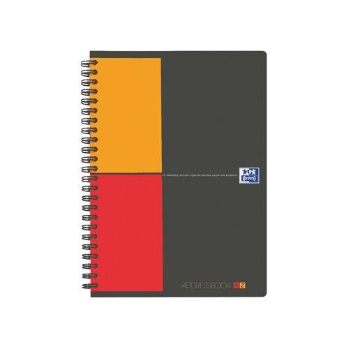 Adresboek Oxford International A5 80vel met alfabet