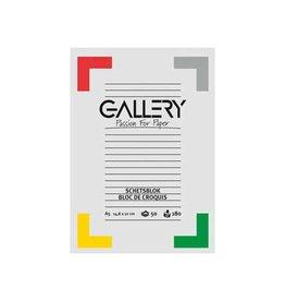 Gallery Gallery schetsblok, 14,8 x21cm(A5), 180 g/m², blok van 50vel
